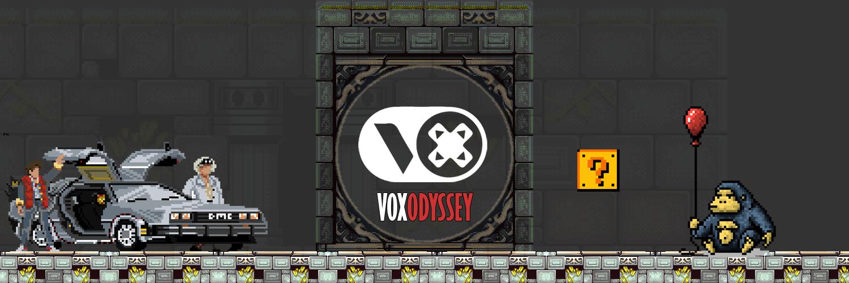 Vox Odyssey home banner