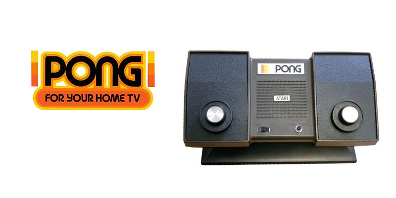 Atari Pong aka home pong released in 1975