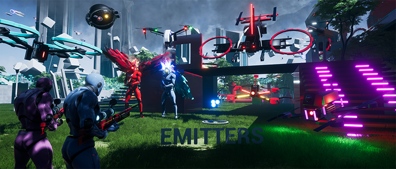 Emitters game