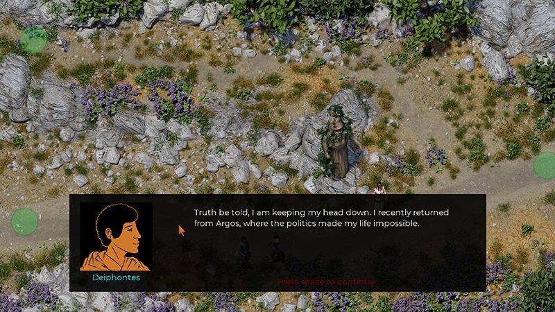 Theseus: journey to Athens