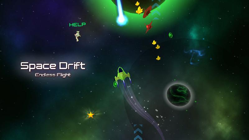 Space Drift Endless Flight