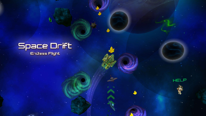 Space Drift Endless Flight