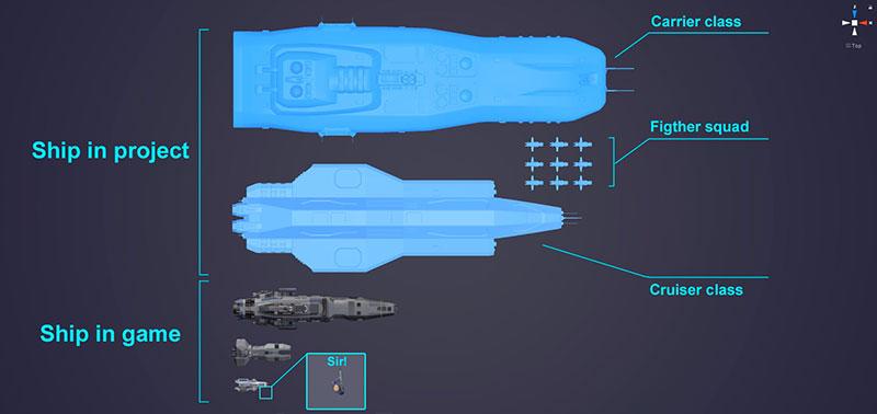 Spaceship Commander