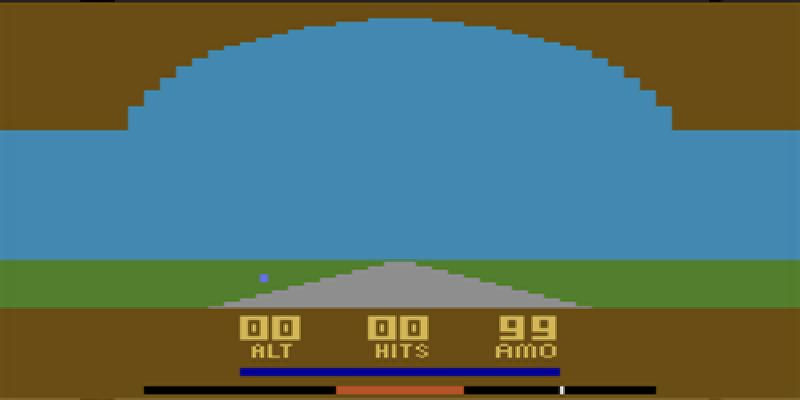 Air Raiders on the Atari 2600