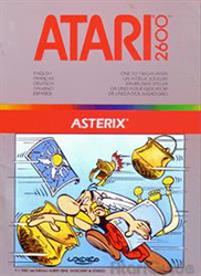 Asterix the game on Atari 2600