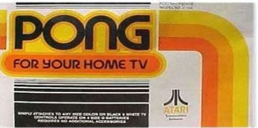 Atari Pong aka home pong
