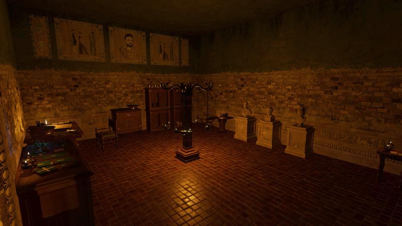 Atrium the game by Black Potion