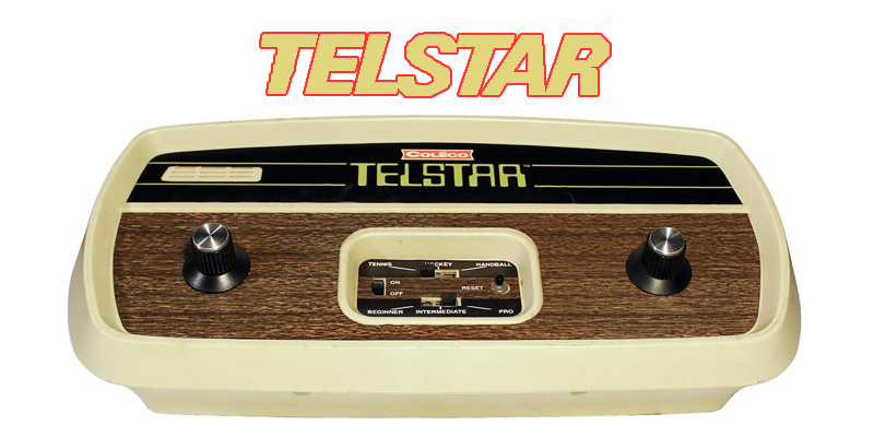 Telstar by coleco was released in 1976