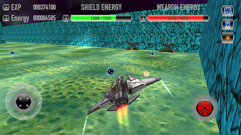Labyrinth Space Shooter Game