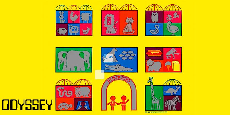 Magnavox Odyssey Fun Zoo